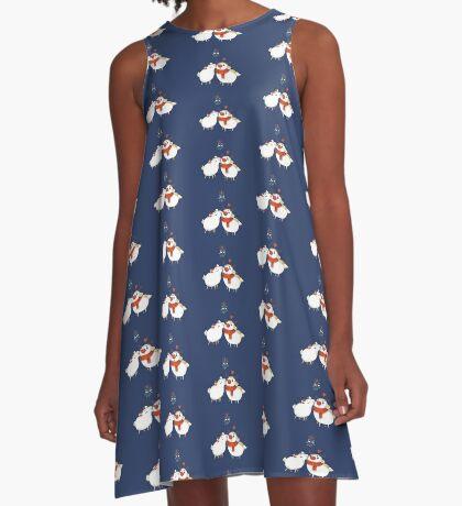 mistletoe and  kisses Variant A-Line Dress