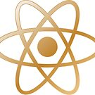 Simple Gold Metal Atom by sciencenotes