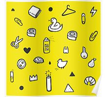 Everyday items Poster