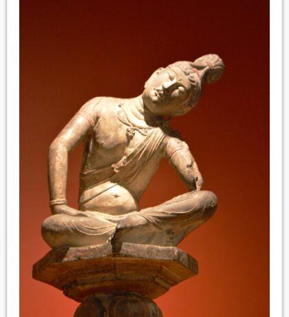 Sculpted Buddha Sticker