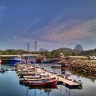 Lochinver Harbour by Alexander Mcrobbie-Munro