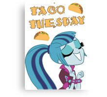 Sonata Dusk - Taco Tuesday Canvas Print