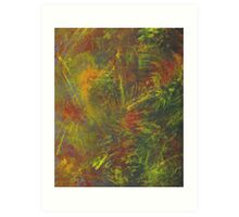 Abstract expressionism Art Print