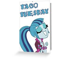 Sonata Dusk - Taco Tuesday (Without Tacos) Greeting Card