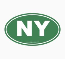 New York NY Euro Oval GREEN by USAswagg2