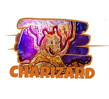 Epic Charizard Streetart Tshirts + More ' Pokemon ' by Jonny2may