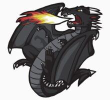 Little Dragon's Fire Kids Clothes
