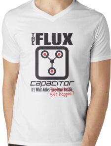 The Flux Capacitor - Makes $#it Happen Mens V-Neck T-Shirt