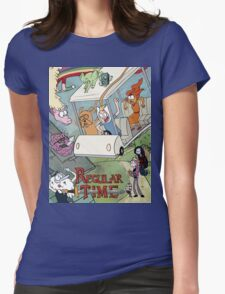 Regular Time Womens Fitted T-Shirt