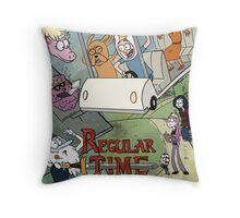 Regular Time Throw Pillow