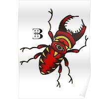 olschool beetle Poster