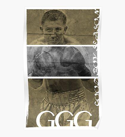 """Gennady """"GGG"""" Golovkin Poster"""