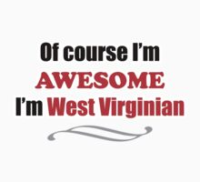 West Virginia Is Awesome One Piece - Short Sleeve