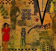 Visions of Modern Day Women - WIP by © Angela L Walker