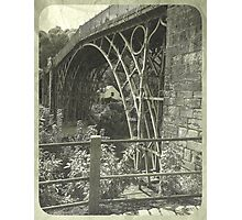 IRONBRIDGE ENGLAND 1 Photographic Print