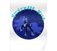 NightmareMoonGlitter Poster