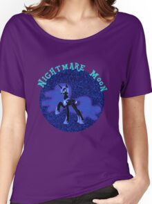 NightmareMoonGlitter Women's Relaxed Fit T-Shirt