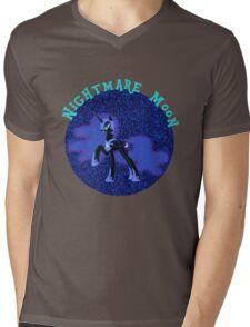 NightmareMoonGlitter Mens V-Neck T-Shirt