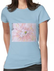 Up Close Womens Fitted T-Shirt