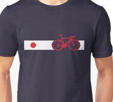 Bike Stripes Japan Unisex T-Shirt