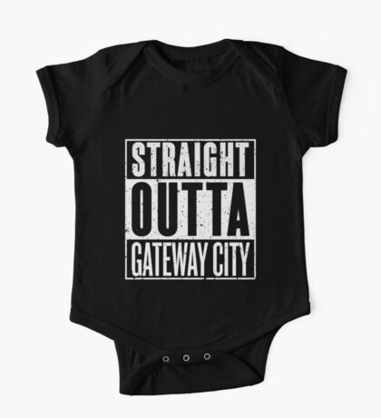 Straight Outta Gateway City One Piece - Short Sleeve