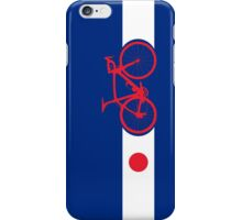 Bike Stripes Japan iPhone Case/Skin
