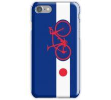 Bike Stripes Japan iPhone Case/Skin