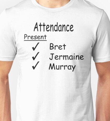 Flight Of The Conchords Attendance  Unisex T-Shirt