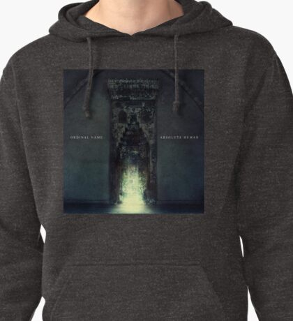 """Ordinal Name """"Absolute Human"""" album cover Pullover Hoodie"""