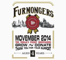 FURMONGERS 2014 Movember Kids Tee
