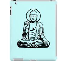 Young Buddha No.1 (black) iPad Case/Skin