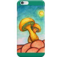 Mushroom Basking in the Warm Sun iPhone Case/Skin