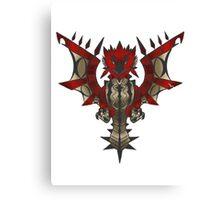 Rathalos Emblem Canvas Print