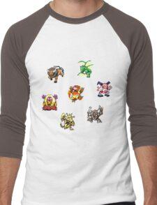 Pokemon Weirdos Men's Baseball ¾ T-Shirt