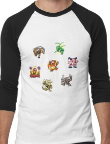 Pokemon Weirdos Men's Baseball ¾ T-Shirt