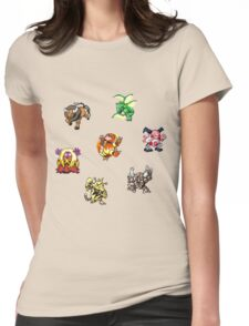 Pokemon Weirdos Womens Fitted T-Shirt
