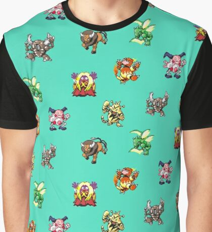 Pokemon Weirdos Graphic T-Shirt