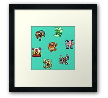 Pokemon Weirdos Framed Print