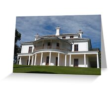 Strickland House, Sydney, Australia. Greeting Card