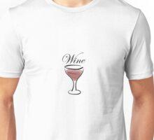 Wine. Unisex T-Shirt