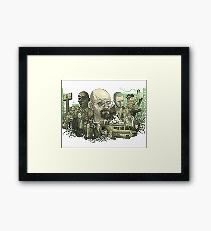 Breaking Bad  Framed Print