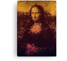 Sunset Mona Lisa Canvas Print