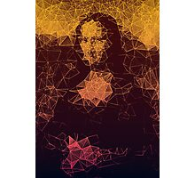 Sunset Mona Lisa Photographic Print