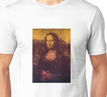Sunset Mona Lisa Unisex T-Shirt