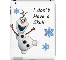 Frozen- Olaf  iPad Case/Skin