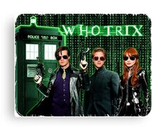 The Whotrix Canvas Print