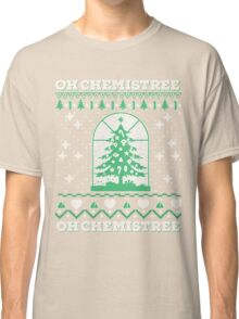 Chemistry Oh Chemistree Ugly Christmas Sweater Classic T-Shirt