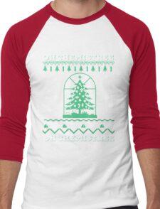 Chemistry Oh Chemistree Ugly Christmas Sweater Men's Baseball ¾ T-Shirt