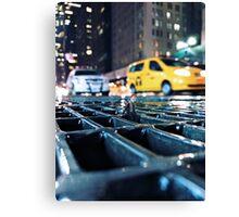 enough - times square Canvas Print