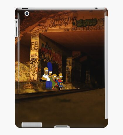 Simpsons Urbex iPad Case/Skin